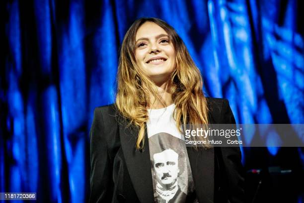 Francesca Michielin performs with James Morrison at Alcatraz on October 17 2019 in Milan Italy