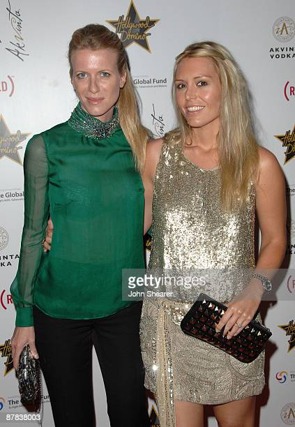 Francesca Nardi and Deborah Harpur attends the Akvinta Presents 'A Night of Hollywood Domino' at The House at Cannes during the 62nd Annual Cannes...