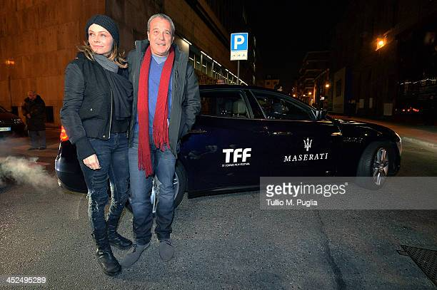Francesca Neri and Claudio Amendola attend the 31st Torino Film Festival on November 29 2013 in Turin Italy