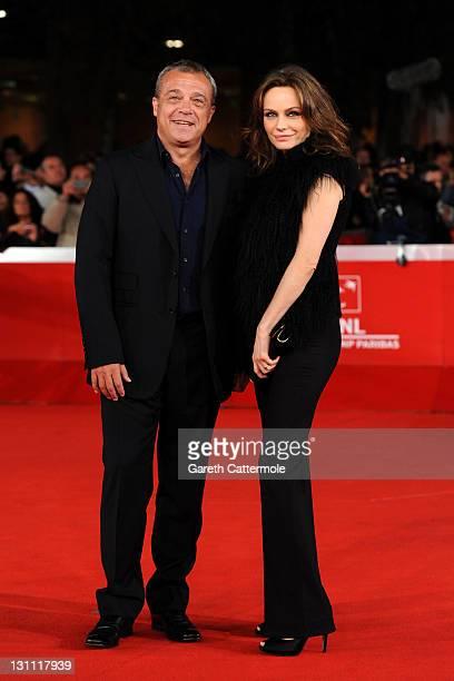 """Francesca Neri and Claudio Amendola attend the """"Il Cuore Grande Delle Ragazze"""" premiere during the 6th International Rome Film Festival on November..."""