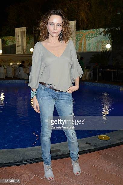Francesca Neri attends Day 3 of the 2012 Ischia Global Fest on July 10, 2012 in Ischia, Italy.