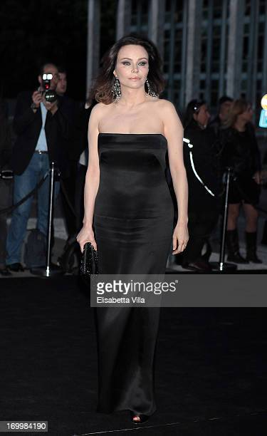 Francesca Neri attends 'One Night Only' Roma hosted by Giorgio Armani at Palazzo Civilta Italiana on June 5 2013 in Rome Italy