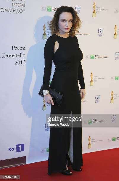 Francesca Neri attends the David di Donatello Ceremony Awards at Dear on June 14 2013 in Rome Italy