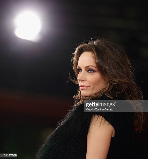Francesca Neri attends the 'Il Cuore Grande Delle Ragazze' premiere during the 6th International Rome Film Festival on November 1 2011 in Rome Italy