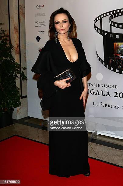 Francesca Neri attends the 'Notte Delle Stelle' during the 63rd Berlinale International Film Festival at the Maritim Hotel on February 15 2013 in...