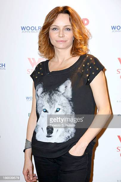 Francesca Neri attends the Officinelab Presentation during the 7th Rome Film Festival at the Auditorium Parco Della Musica on November 16 2012 in...