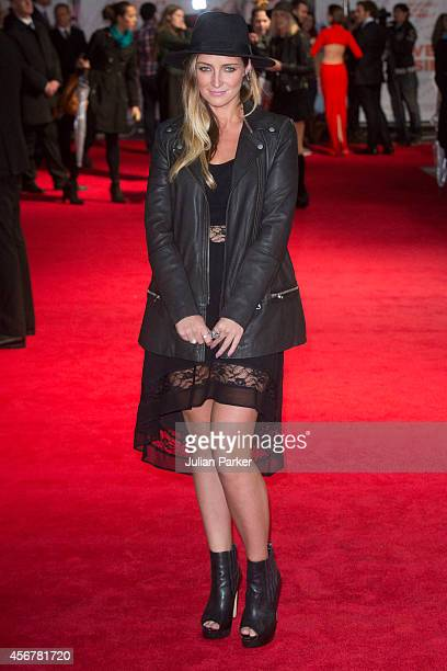 Francesca Newman Young attends the World Premiere of 'Love Rosie' at Odeon West End on October 6 2014 in London England
