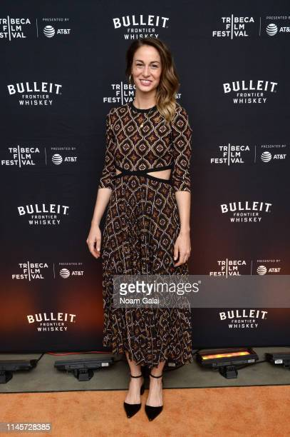 Francesca Palombo attends the Plus One Premiere After Party at the Bulleit 3D printed Frontier Lounge during Tribeca Film Festival on April 28 2019...