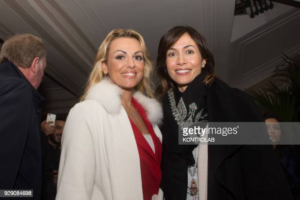 Francesca Pascale on a visit to the historic center of Naples In the photo Francesca Pascale and Mara Carfagna