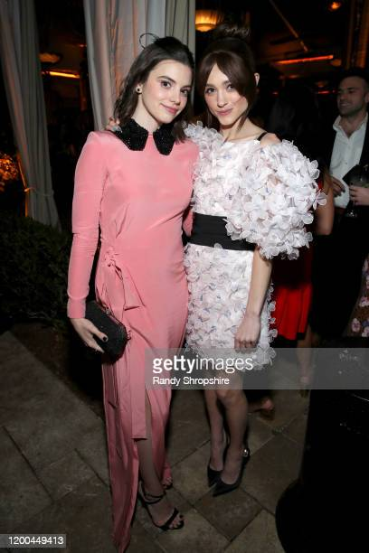Francesca Reale and Natalia Dyer are seen as Entertainment Weekly Celebrates Screen Actors Guild Award Nominees at Chateau Marmont on January 18 2020...