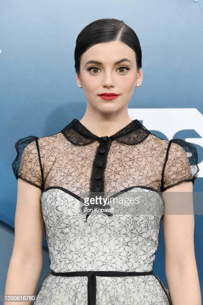 Francesca Reale attends the 26th Annual Screen Actors Guild Awards at The Shrine Auditorium on January 19 2020 in Los Angeles California