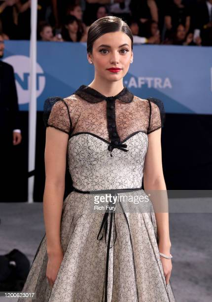 Francesca Reale attends the 26th Annual Screen ActorsGuild Awards at The Shrine Auditorium on January 19 2020 in Los Angeles California