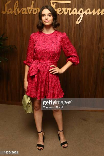 Francesca Reale attends the ELLE x Ferragamo Hollywood Rising Party at Sunset Tower on October 11 2019 in Los Angeles California