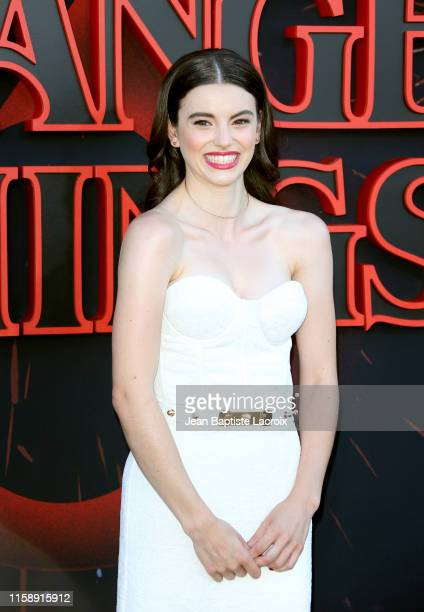 Francesca Reale attends the premiere of Netflix's Stranger Things Season 3 on June 28 2019 in Santa Monica California