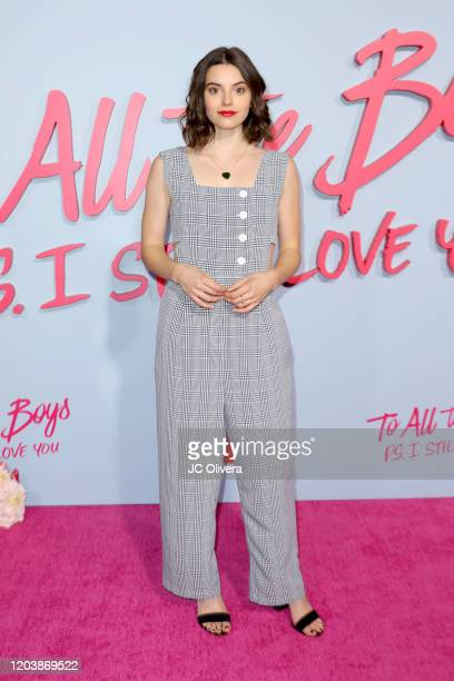 Francesca Reale attends the Premiere of Netflix's To All The Boys PS I Still Love You at the Egyptian Theatre on February 03 2020 in Hollywood...