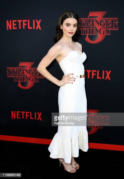 Francesca Reale attends the Stranger Things Season 3 World Premiere on June 28 2019 in Santa Monica California