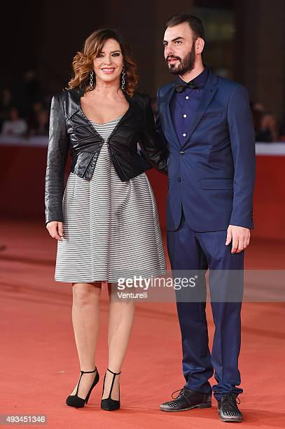 Francesca Rettondini and guest attend a red carpet for 'VilleMarie' during the 10th Rome Film Fest on October 20 2015 in Rome Italy