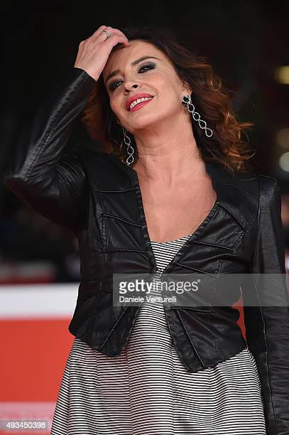 Francesca Rettondini attends a red carpet for 'VilleMarie' during the 10th Rome Film Fest on October 20 2015 in Rome Italy