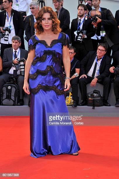 Francesca Rettondini attends the Closing Ceremony during the 73rd Venice Film Festival at Palazzo del Cinema on September 10 2016 in Venice Italy