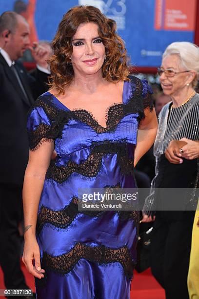 Francesca Rettondini attends the closing ceremony of the 73rd Venice Film Festival at Sala Grande on September 10 2016 in Venice Italy