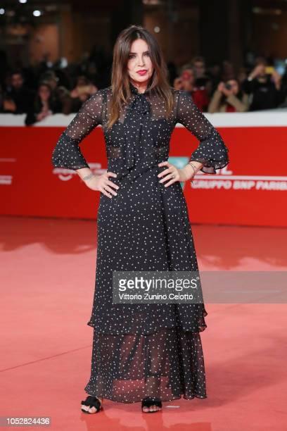 Francesca Rettondini from Il Cioccolatino movie walks the red carpet ahead of the Il Flauto Magico Di Piazza Vittorio screening during the 13th Rome...