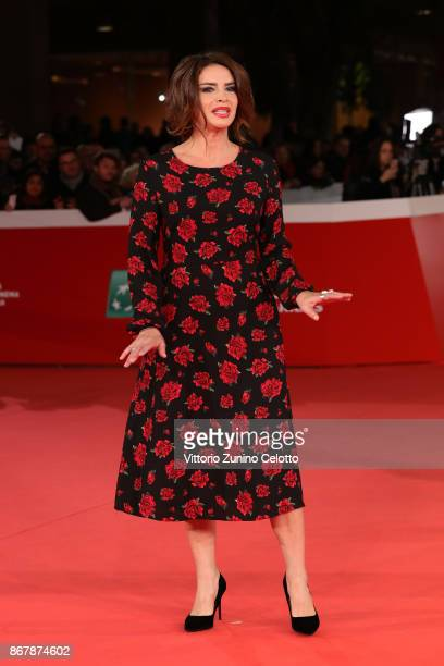 Francesca Rettondini walks a red carpet for 'Prendre La Large' during the 12th Rome Film Fest at Auditorium Parco Della Musica on October 29 2017 in...