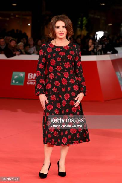 Francesca Rettondini walks a red carpet for 'Prendre La Large' during the 12th Rome Film Fest at Auditorium Parco Della Musica on October 29 2017 in...