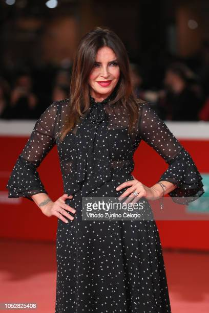 Francesca Rettondini walks the red carpet ahead of the Il Flauto Magico Di Piazza Vittorio screening during the 13th Rome Film Fest at Auditorium...