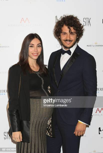 Francesca Rocco and Giovanni Masiero attend Alessandro Martorana's 'Spring Party' on May 10 2017 in Milan Italy