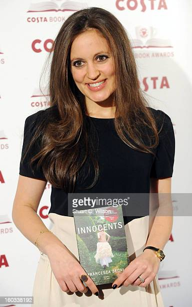 Francesca Segal attends the Costa Book of the Year awards at Quaglino's on January 29 2013 in London England
