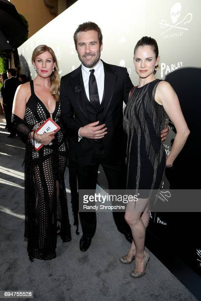 Francesca Standen Clive Standen and Amy Bailey arrive to Sea Shepherd's 40th Anniversary Gala for the Oceans at Montage Beverly Hills on June 10 2017...