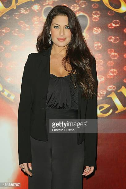 Francesca Testasecca attends the Ballando con le stelle 100th Episode Party at La Villa on December 9 2013 in Rome Italy