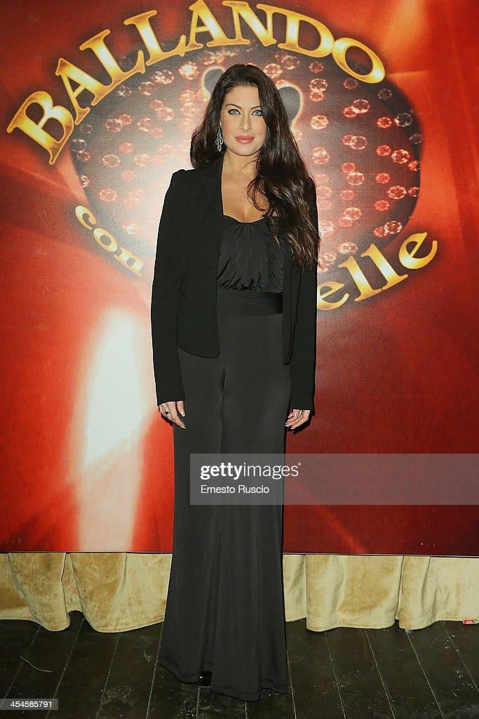 Francesca Testasecca attends the 'Ballando con le stelle' 100th Episode Party at La Villa on December 9, 2013 in Rome, Italy.