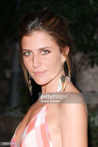 Francesca Valtorta attends 2018 Ischia Global Film Music Fest on July 19 2018 in Ischia Italy