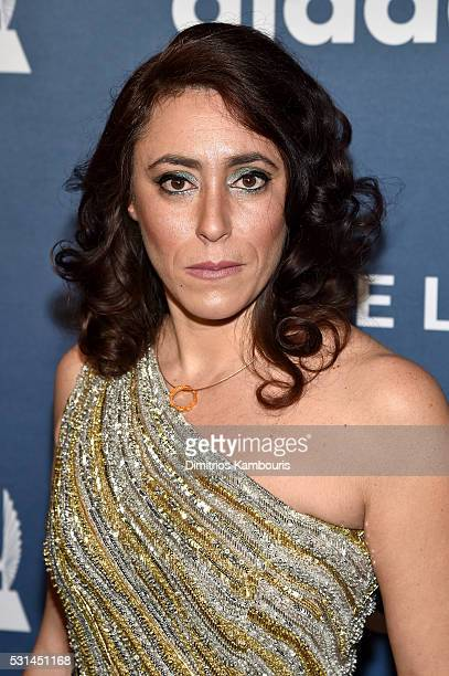 Francesca Vecchioni attends the 27th Annual GLAAD Media Awards in New York on May 14 2016 in New York City