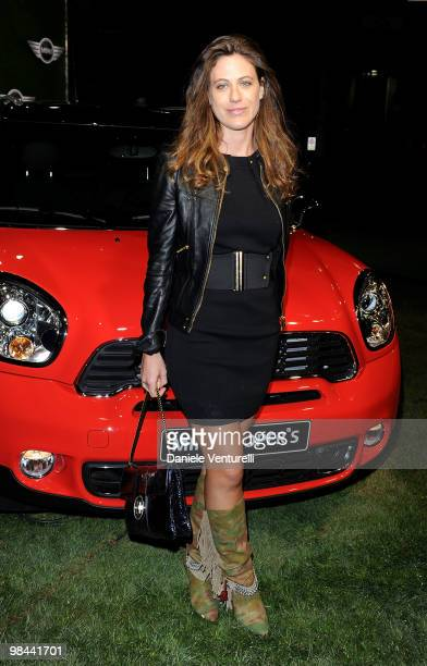 Francesca Versace attend the MINI Countryman Picnic event on April 13, 2010 in Milan, Italy.