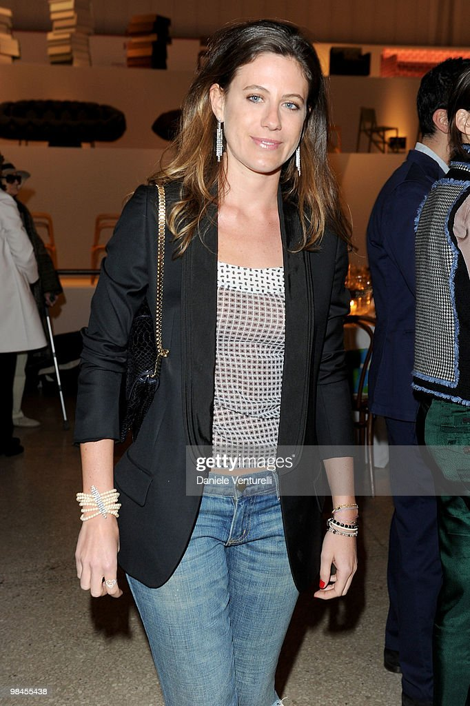 Francesca Versace attend the Stella McCartney And Established & Sons Dinner on April 14, 2010 in Milan, Italy.