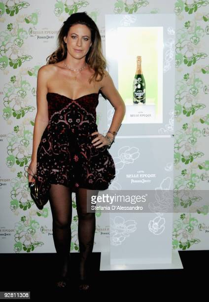 Francesca Versace attends the ''Belle Epoque Re-Bright'' cocktail party on November 5, 2009 in Milan, Italy.