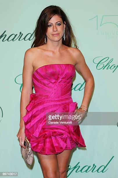 Francesca Versace attends the Chopard 150th Anniversary Party at the VIP Room, Palm Beach during the 63rd Annual International Cannes Film Festival...