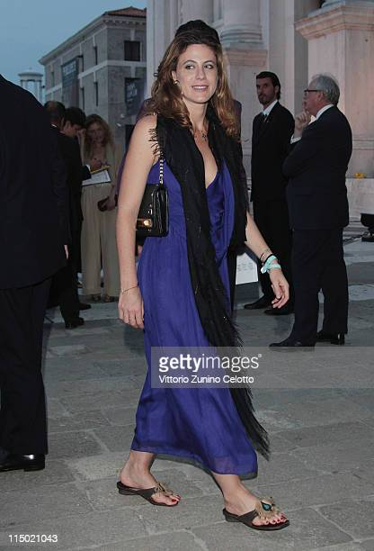 Francesca Versace attends the 'Il Mondo Vi Appartiene' dinner at Fondazione Cini on June 1, 2011 in Venice, Italy.