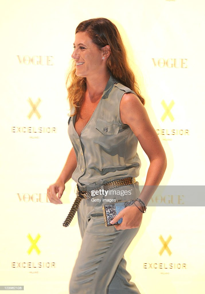 Francesca Versace attends the opening cocktail party of Excelsior Milano on September 6, 2011 in Milan, Italy.