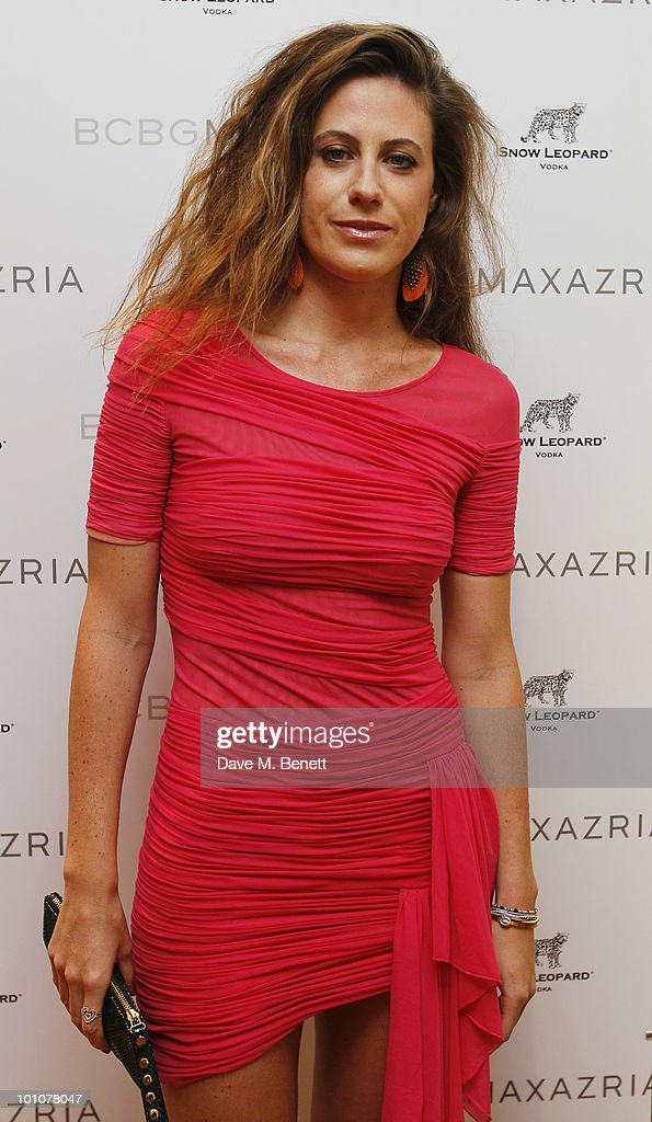 Francesca Versace attends the store opening of BCBGMAXAZRIA on May 27, 2010 in London, England.