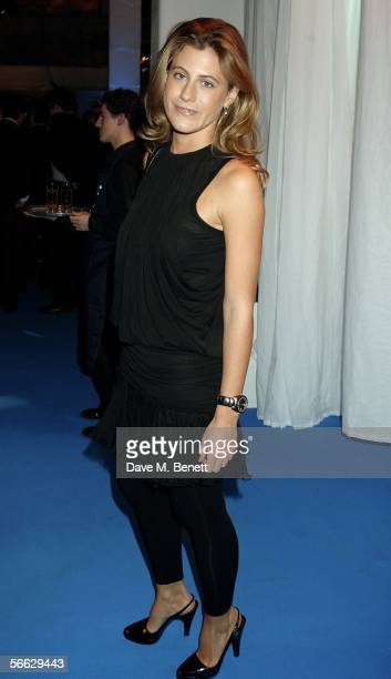 Francesca Versace attends the VIP Launch party for the new Fiat Punto at The Old Truman Brewery on January 19 2006 in London England
