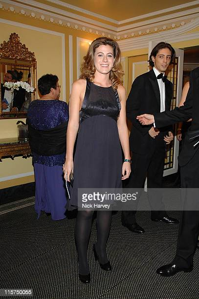 Francesca Versace during Chain of Hope Autumn Ball at Dorchester Hotel in London, Great Britain.