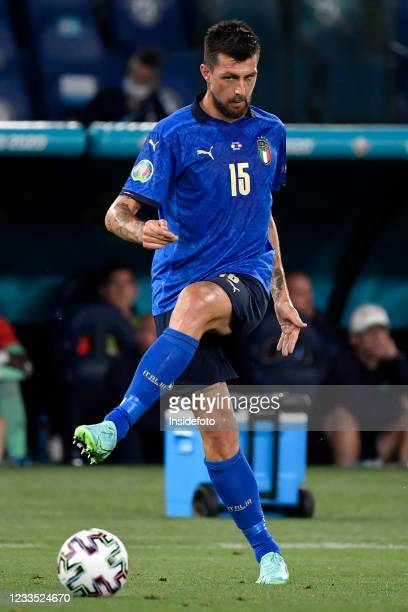 Francesco Acerbi of Italy in action during the Uefa Euro 2020 Group A football match between Italy and Switzerland. Italy won 3-0 over Switzerland.