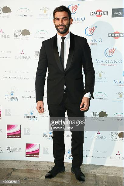 Francesco Arca arrives at Children For Peace Gala on November 28 2015 at Spazio Novecento in Rome Italy
