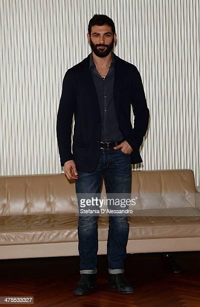 Francesco Arca attends 'Allacciate Le Cinture' Photocall on February 28 2014 in Milan Italy