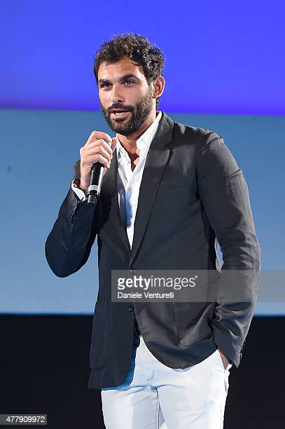 Francesco Arca attends Day 8 of the 61st Taormina Film Fest on June 20 2015 in Taormina Italy