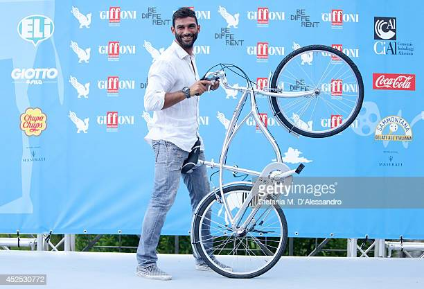Francesco Arca attends Giffoni Film Festival photocall on July 22 2014 in Giffoni Valle Piana Italy