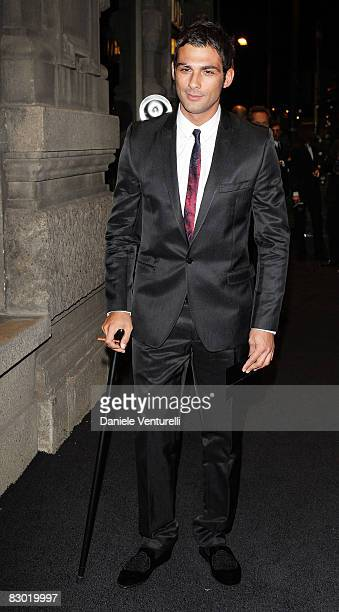 Francesco Arca attends Golden Age Dolce Gabbana party to celebrate Domenico Dolce 50th anniversary at Principe of Savoia Hotel on September 25 2008...